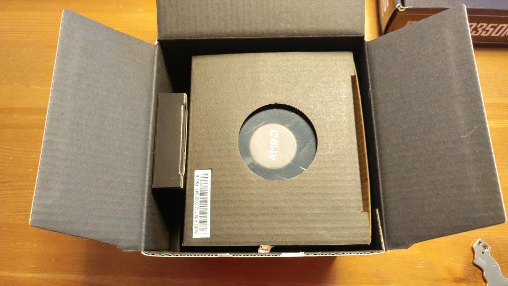 Inhalt der RYZEN-Verpackung