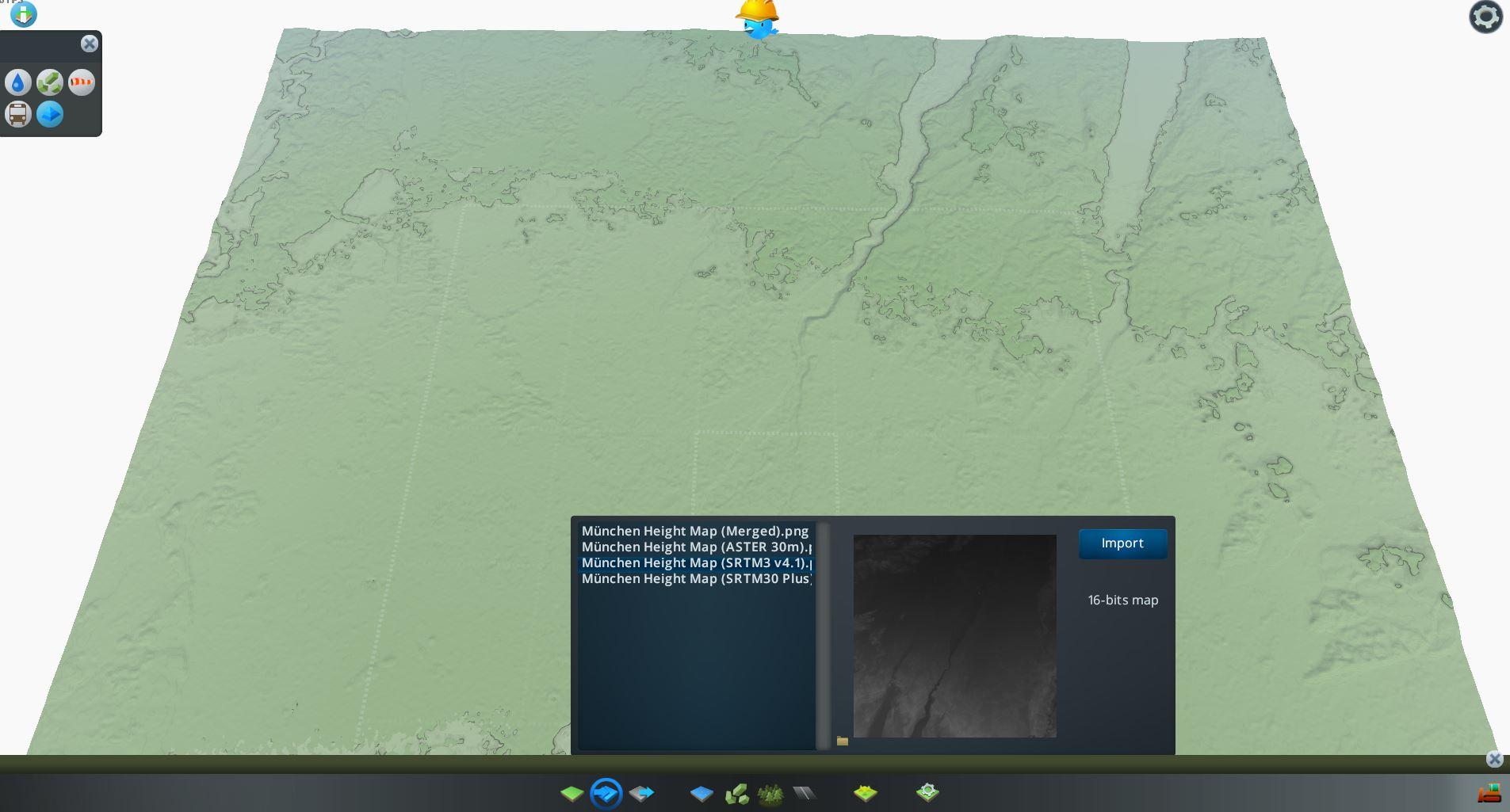 Bild der dritten importierten Heightmap