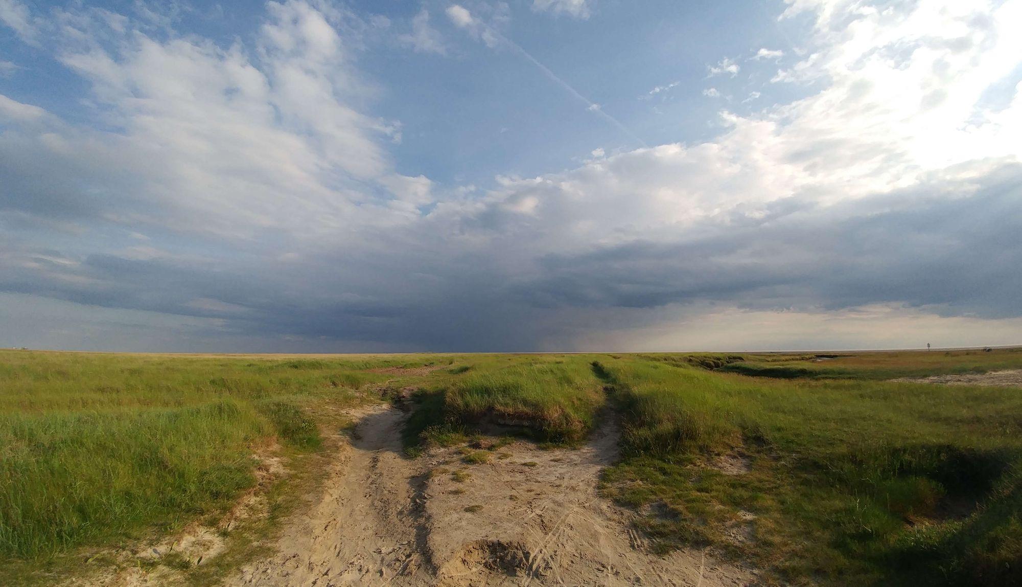 Nordsee Landschaft im JPEG Format