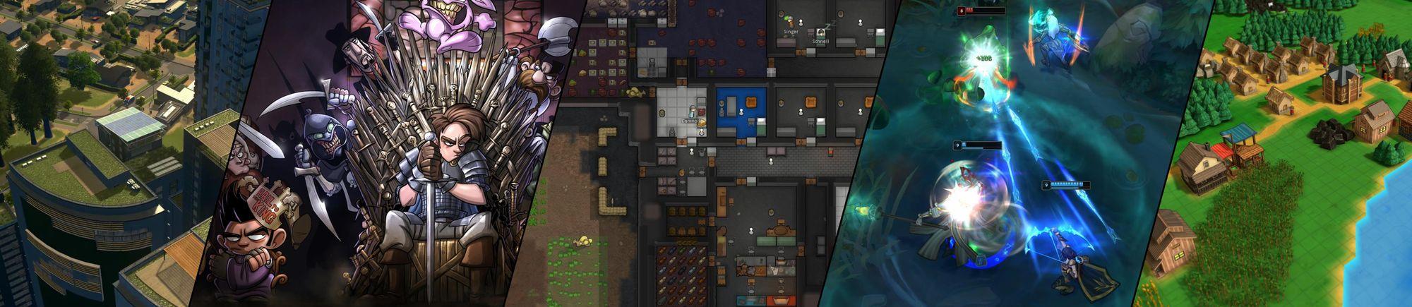 Collage aus verschiedenen Spielen bildet das number13 Blog Cover Bild.