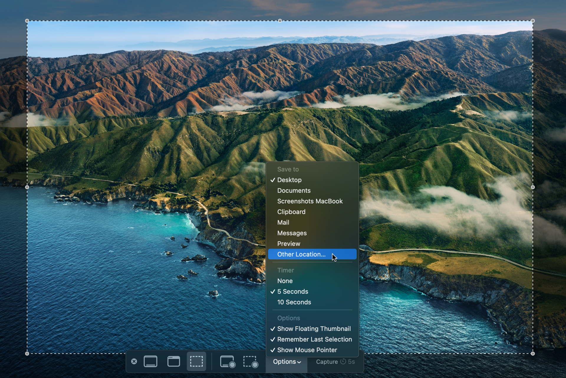 Screenshot Ordner ändern in MacOS