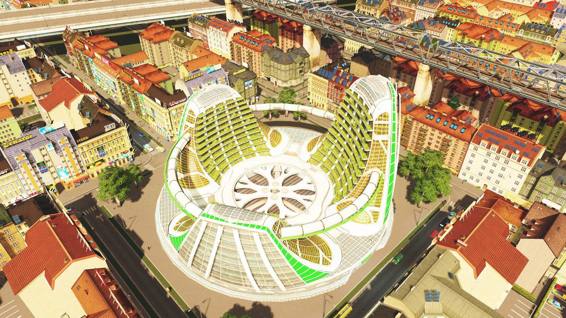 Eden-Projekt in Cities Skylines