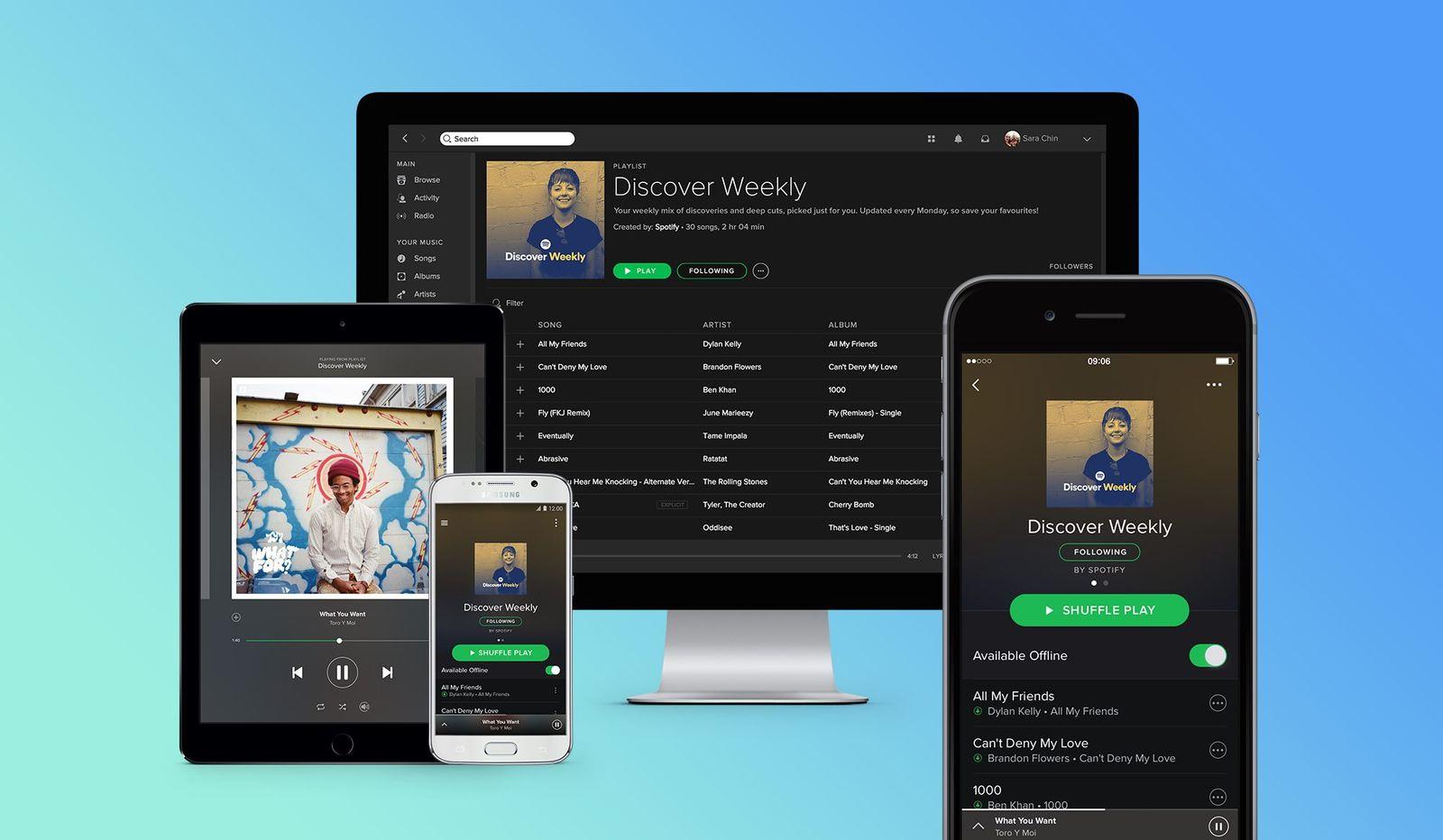 Spotify Songs Importieren